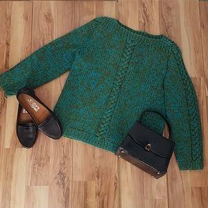 Vintage 50s 60s Handmade Sweater